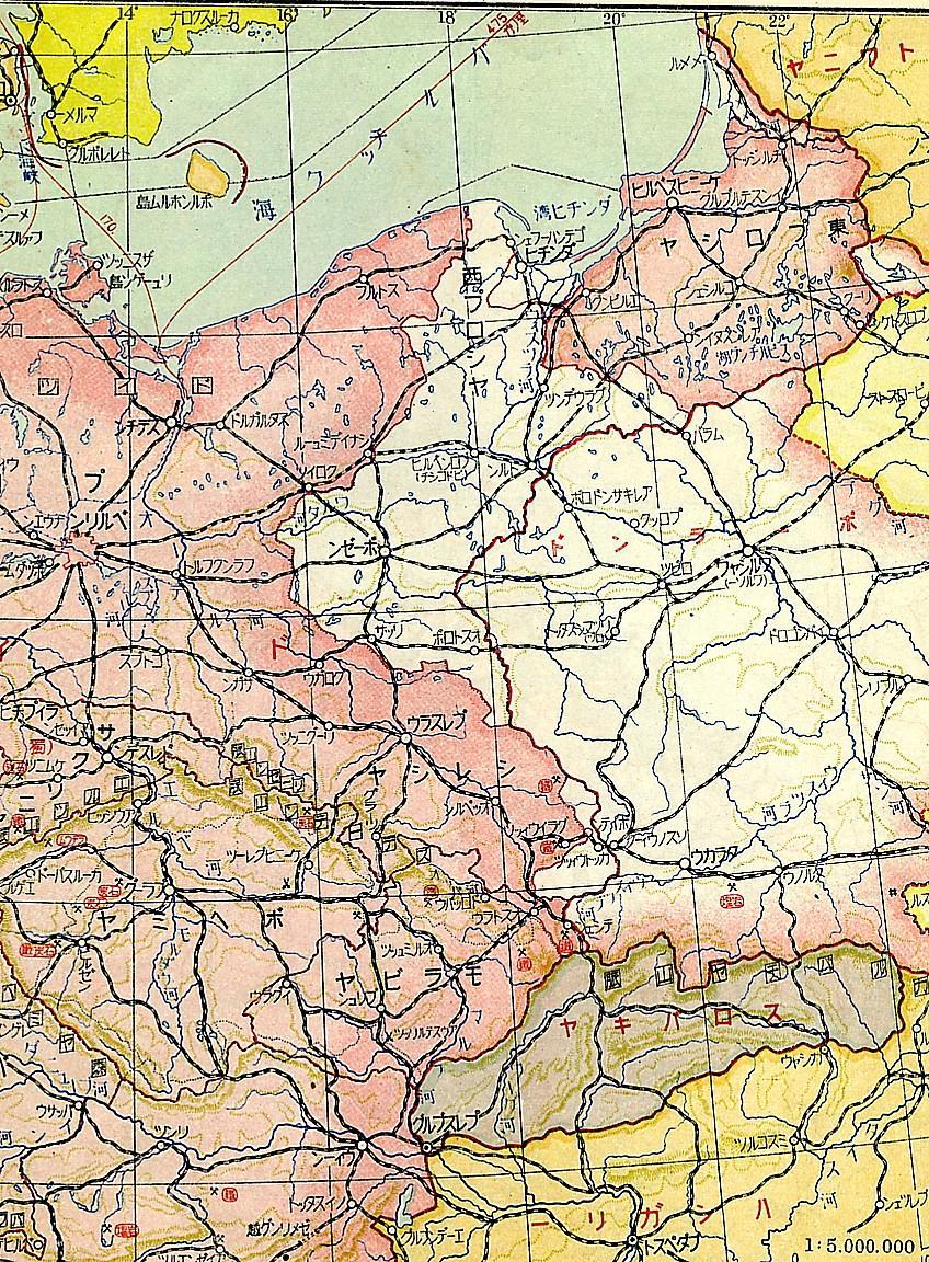 第二次世界大戦中のドイツ東部 ...
